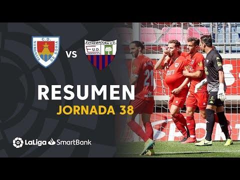 Resumen de CD Numancia vs Extremadura UD (1-0)