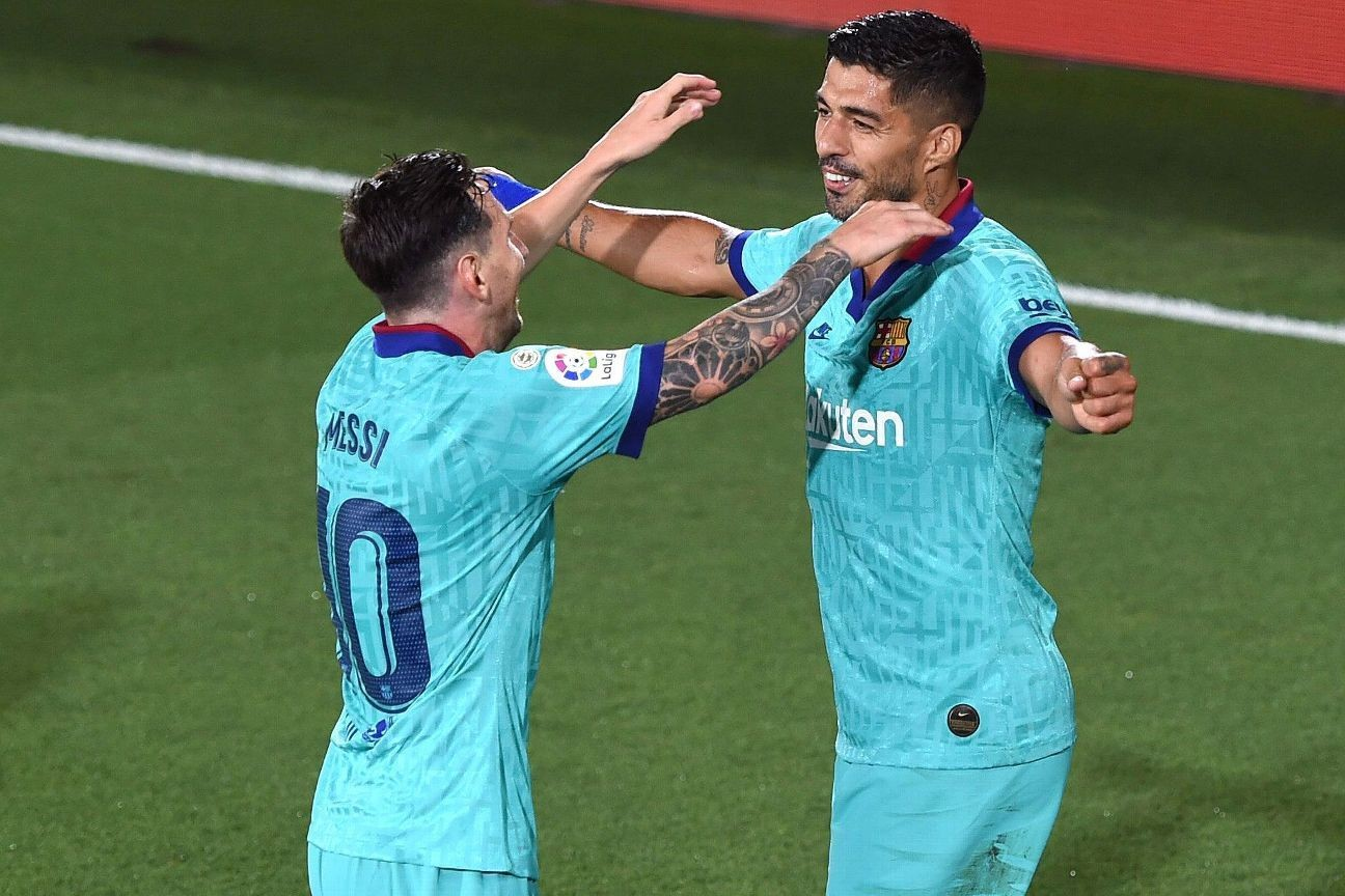 Barca get inspired win, keep pace with Madrid