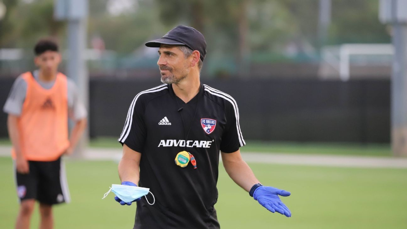 FC Dallas coach on virus cases: Safety over play