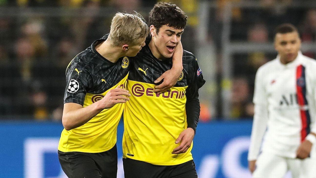 U.S. great Reyna: Son Gio enjoying Dortmund