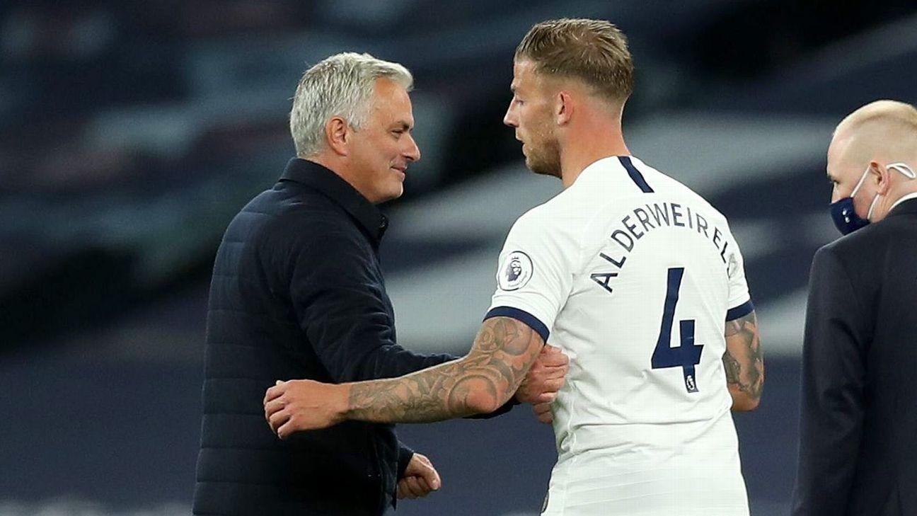 Alderweireld returns to Spurs defence, repays Mourinho faith
