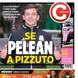 LILLE - Lead on Mexican wonderkid PIZZUTO