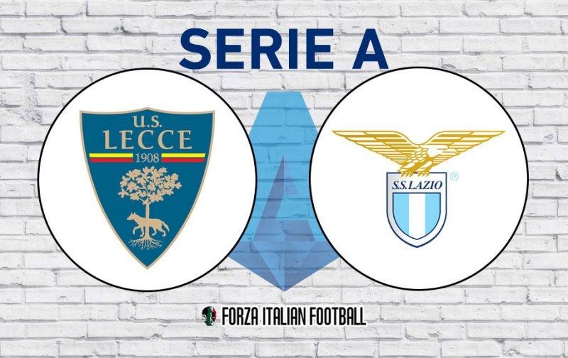 Lecce v Lazio: Official Line-Ups