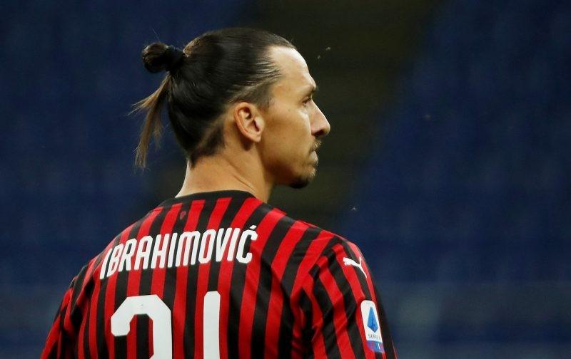 Zlatan Ibrahimovic hints at AC Milan exit