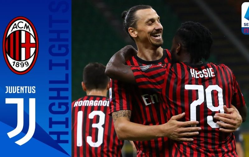 AC Milan 4-2 Juventus: Goals and Highlights | Rossoneri Rout