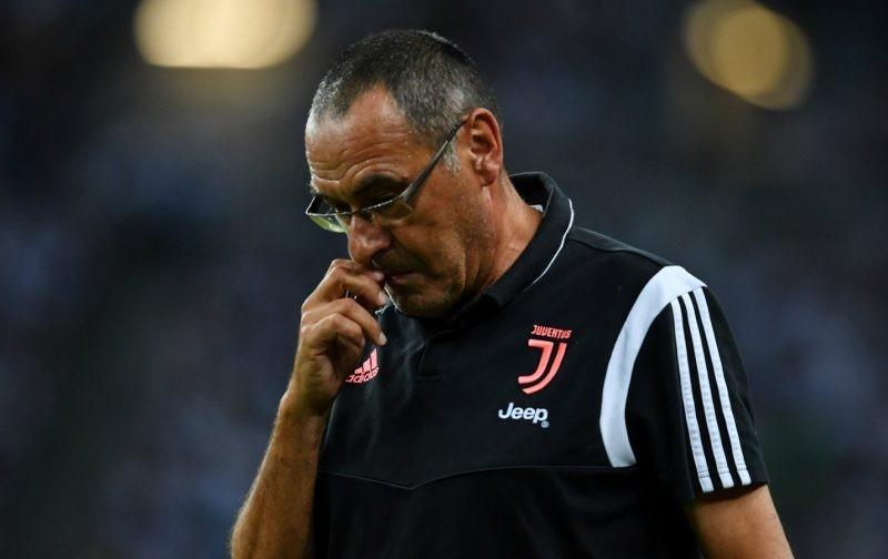 Sarri: Juventus had a 15 minute blackout