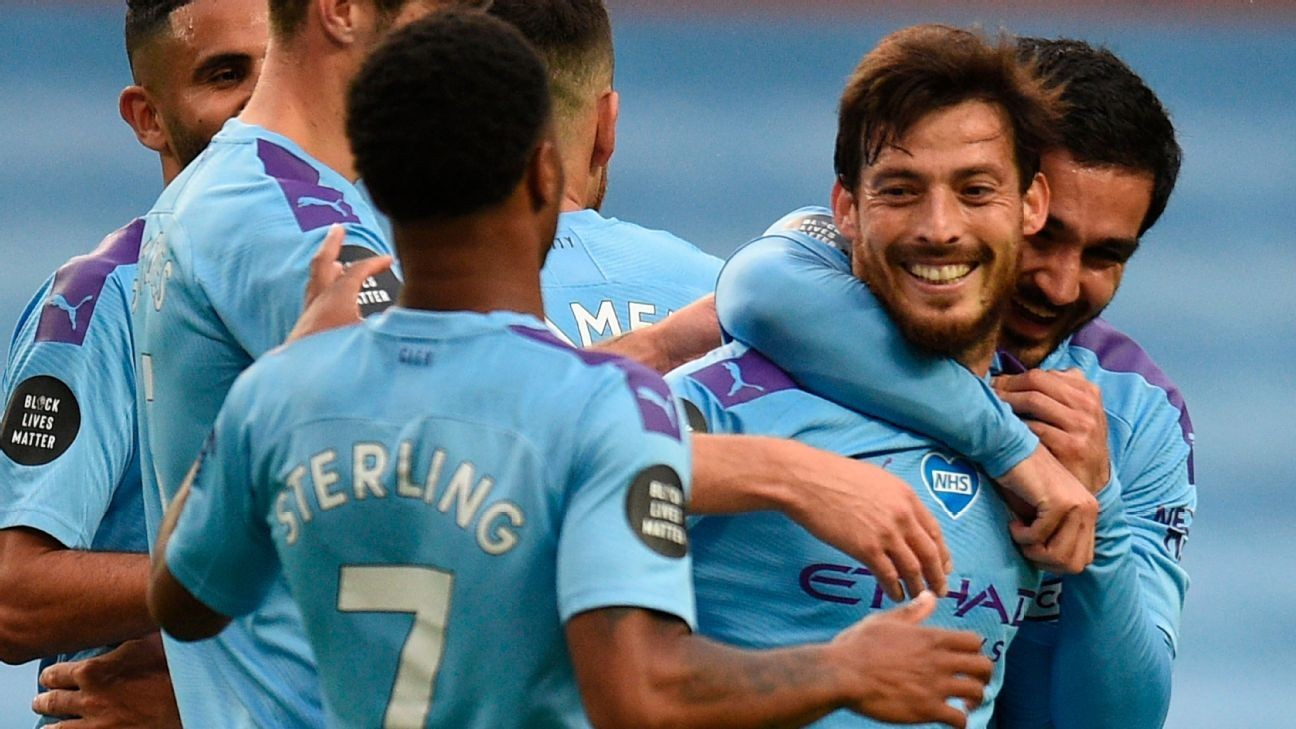 9/10 Silva superb as Man City hammer Newcastle