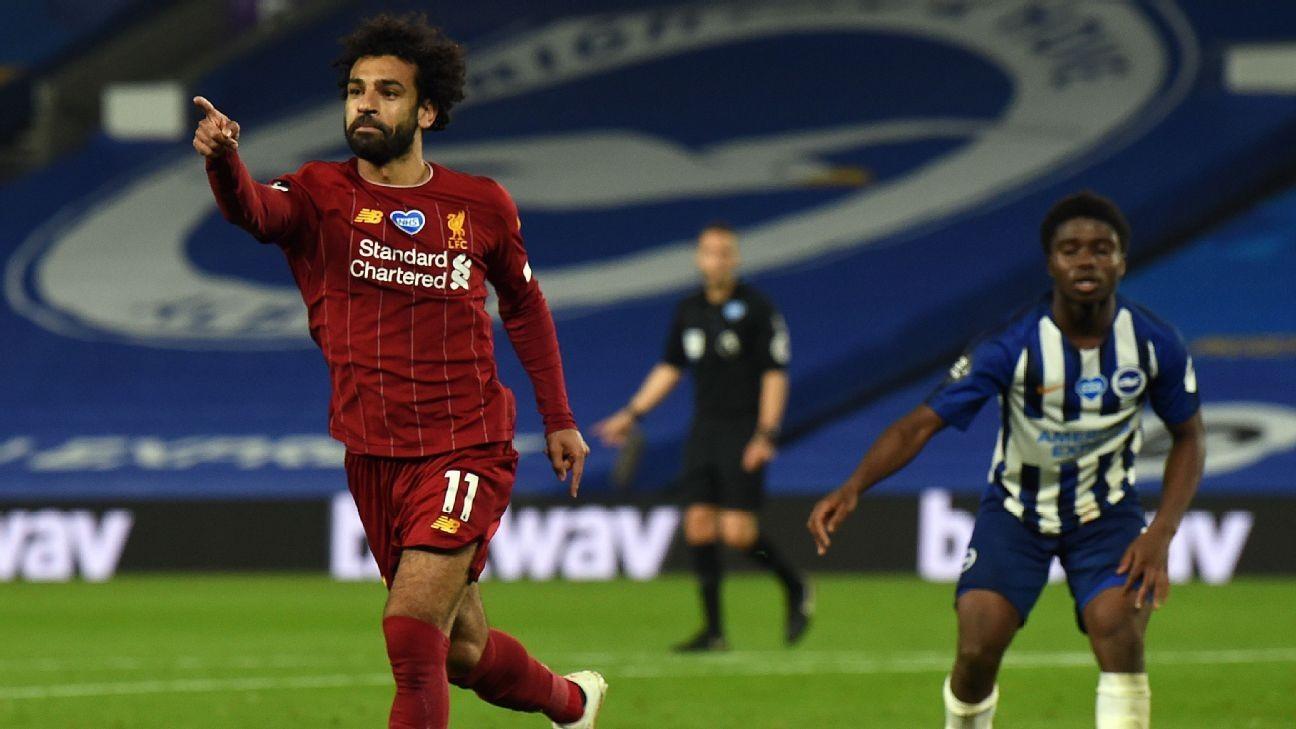 9/10 Salah just misses hat trick at Brighton