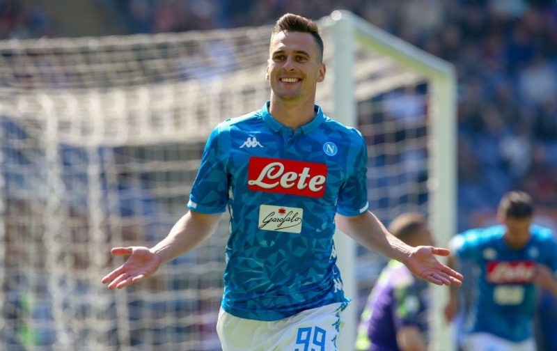 Giuntoli: Milik likely to leave Napoli