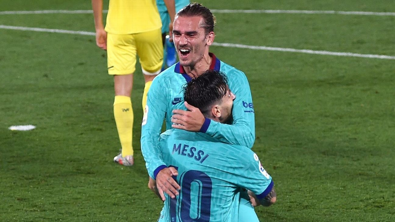 Messi masterminds Griezmann resurgence by making him 'one of the gang'