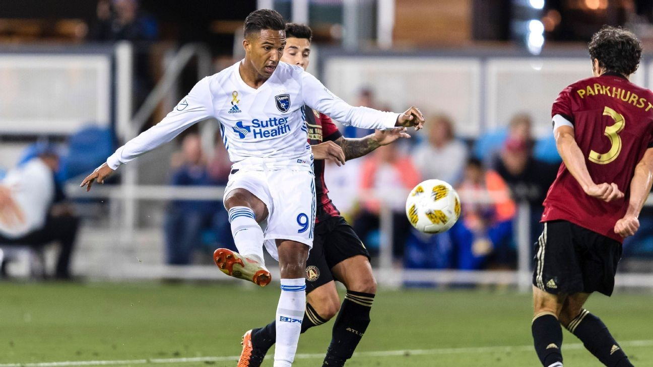 Quakes' Hoesen says he received racist messages