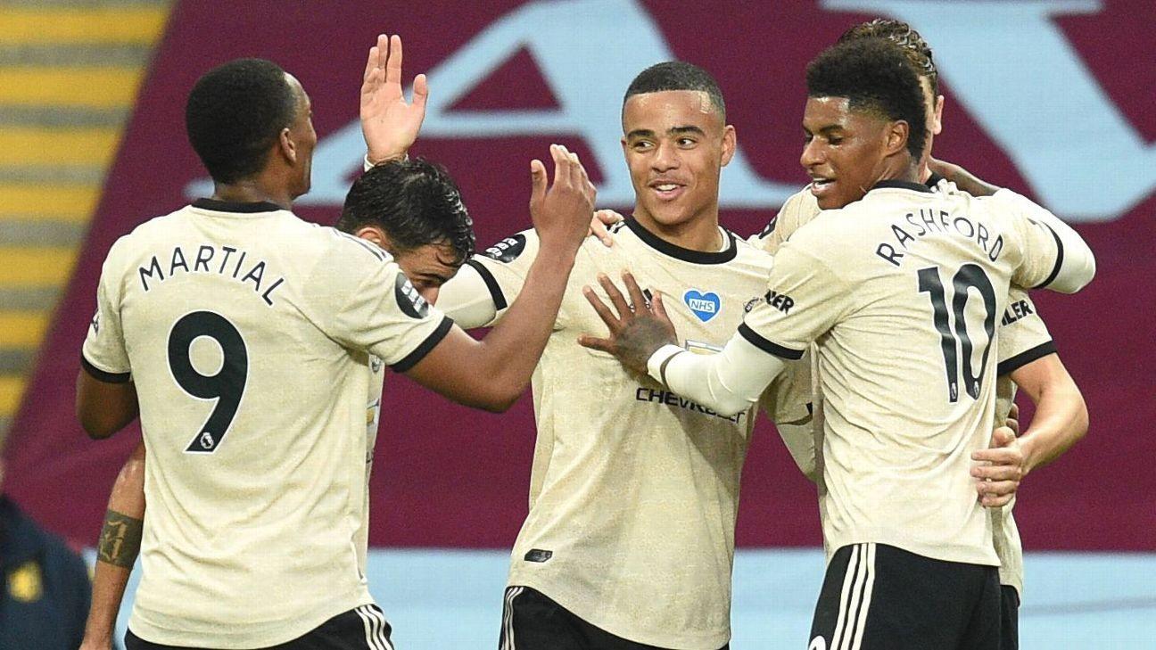 8/10 Greenwood, Pogba keep Man United rolling