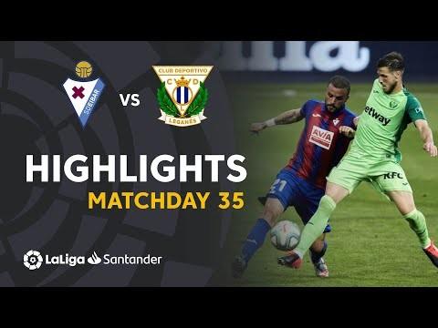Highlights SD Eibar vs CD Leganés (0-0)