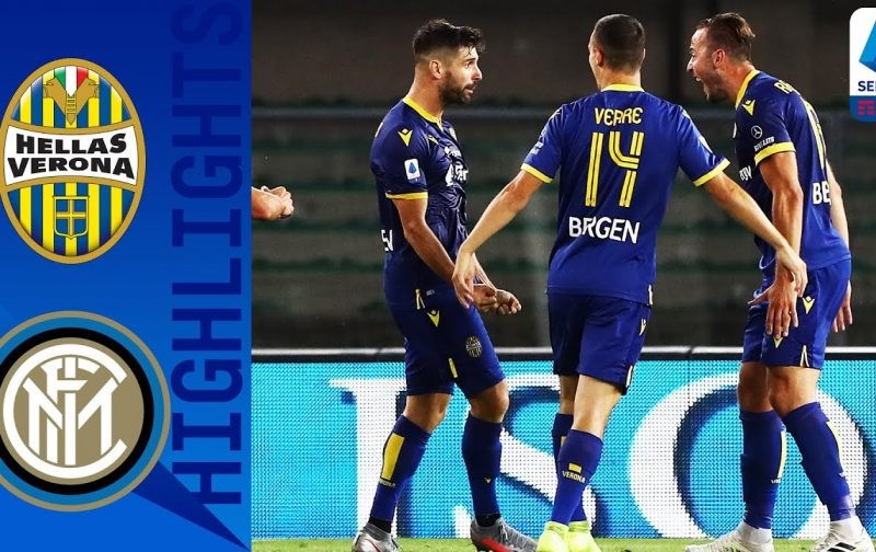 Hellas Verona 2-2 Inter: Goals and Highlights | Veloso at the death