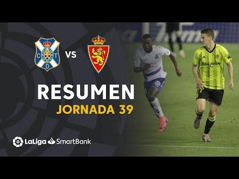 Resumen de CD Tenerife vs Real Zaragoza (1-1)