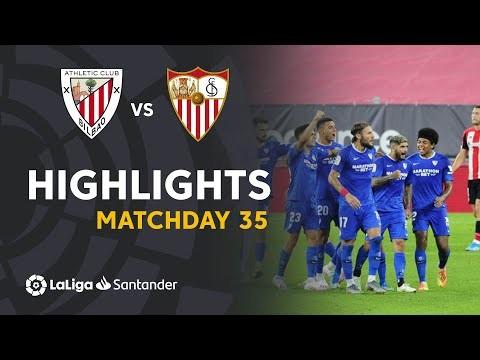 Highlights Athletic Club vs Sevilla FC (1-2)