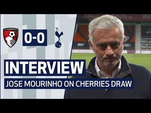 INTERVIEW | JOSE MOURINHO ON BOURNEMOUTH DRAW