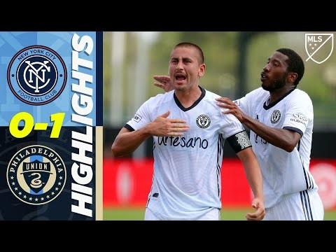 New York City FC 0-1 Philadelphia Union | Bedoya Stuns NYC! | MLS Highlights