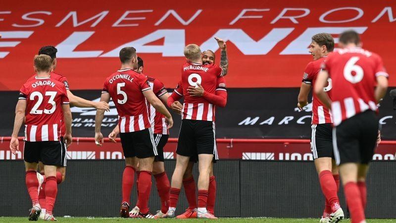 McGoldrick double dents Chelsea top four hopes