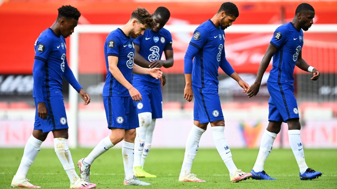 Chelsea defence, 4/10 Zouma to blame in Sheff United loss