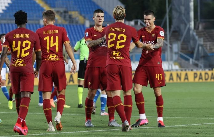 Zaniolo puts injury behind him by netting in Roma victory
