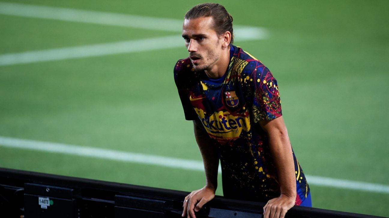 Barcelona suffer blow with Griezmann injury