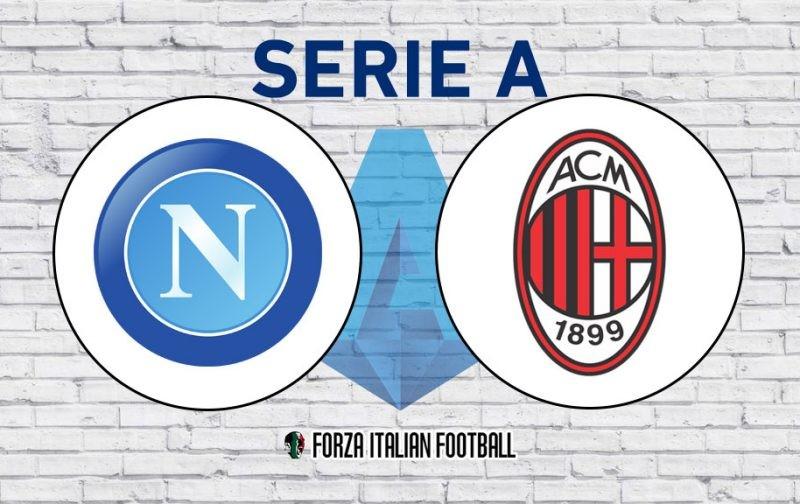 Napoli v AC Milan: Official Line-Ups
