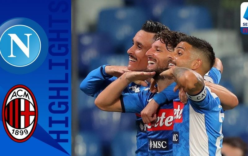 Napoli 2-2 AC Milan: Goals and Highlights | San Paolo showdown