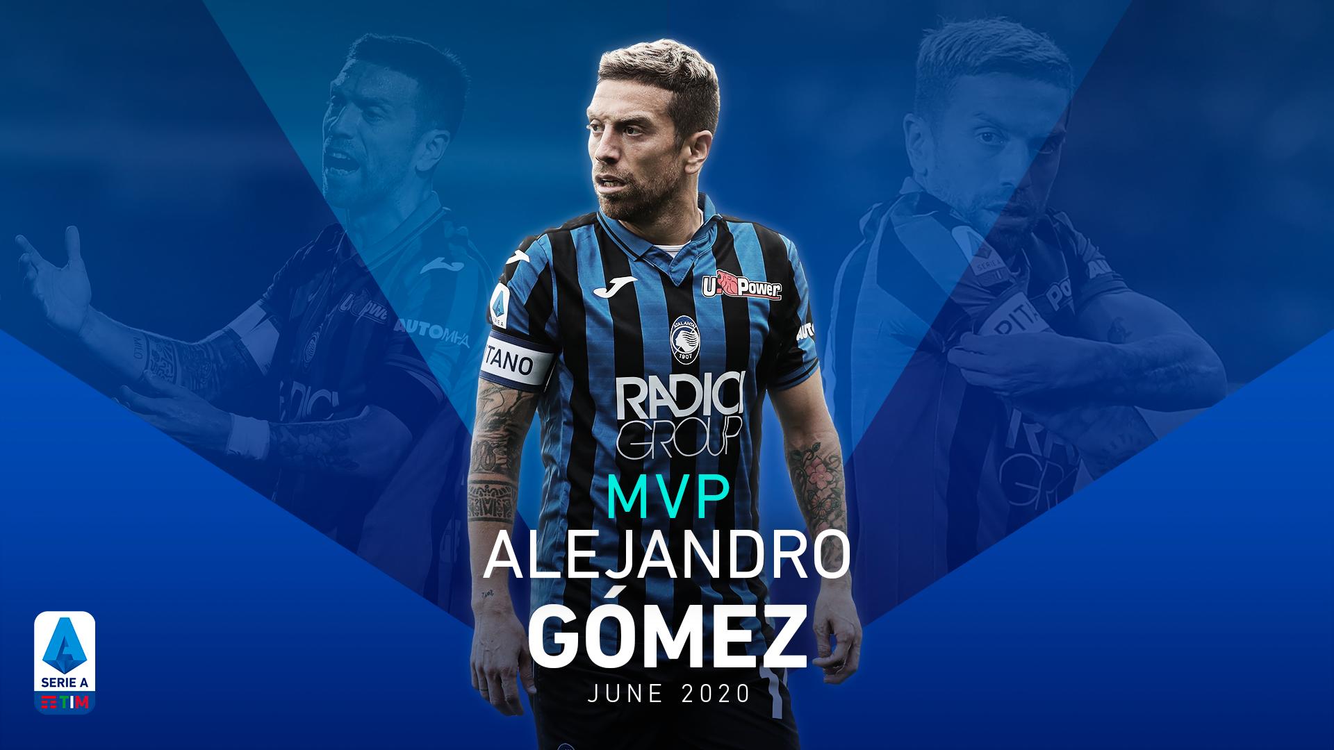 ALEJANDRO GOMEZ MVP FOR JUNE