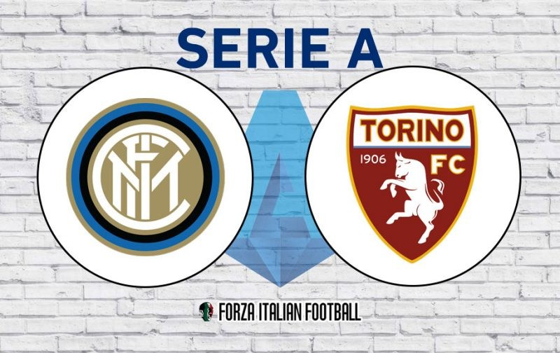 Inter v Torino: Official Line-Ups