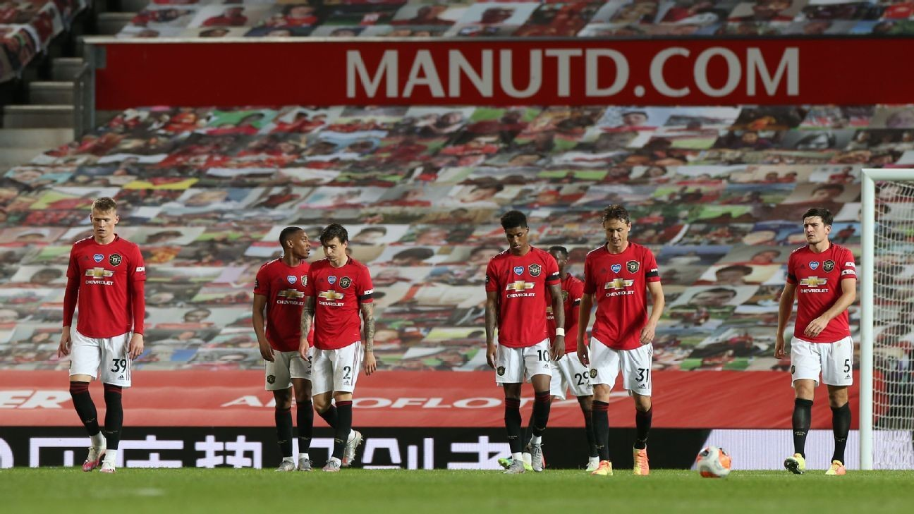 Man United held, miss chance to go third