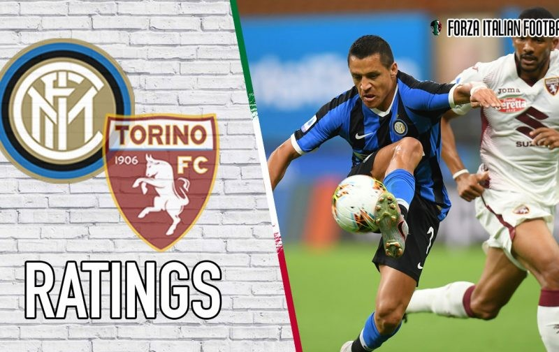 Inter Player Ratings: Sanchez and Young shine