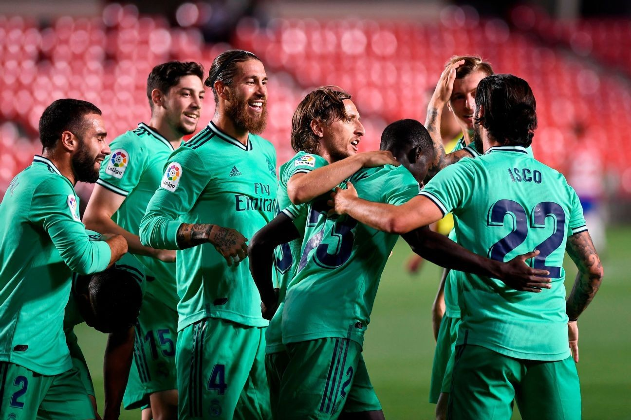 Real Madrid one win from La Liga title after win
