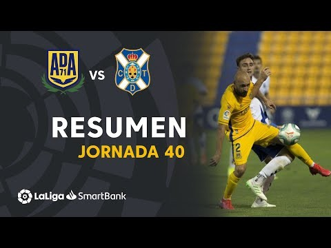 Resumen AD Alcorcón vs CD Tenerife (0-0)