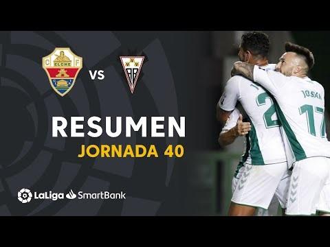 Resumen de Elche CF vs Albacete BP (2-0)