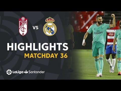 Highlights Granada CF vs Real Madrid (1-2)