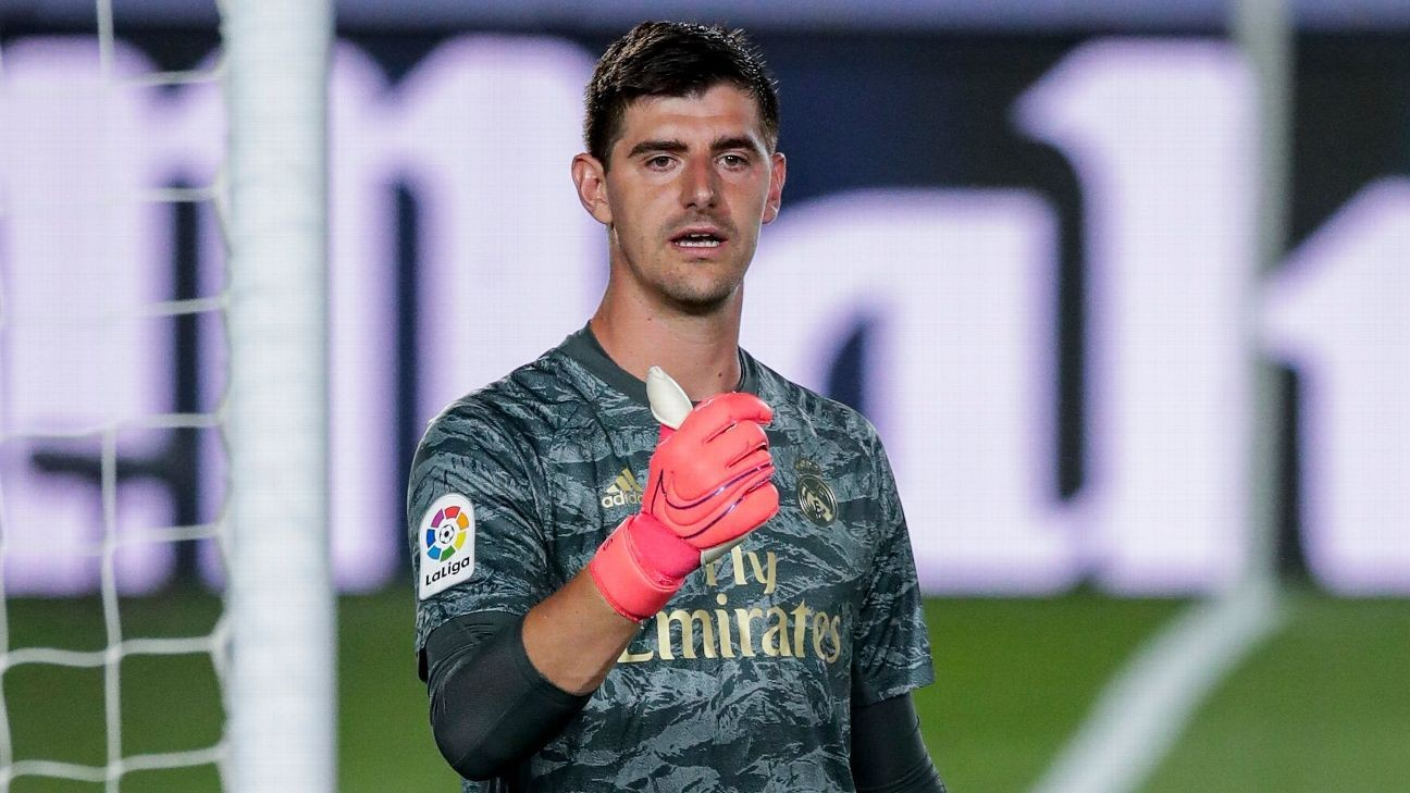 Courtois' journey from Real Madrid fall guy to quiet leader