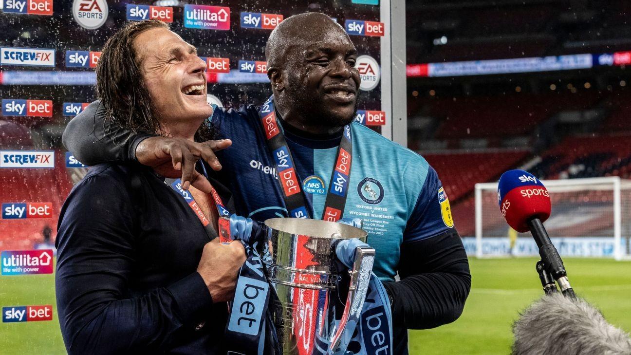 Klopp congratulates Akinfenwa after striker's incredible postmatch interview