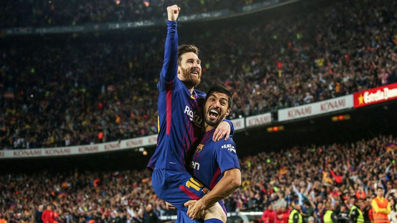 Barca must keep Messi happy - Suarez