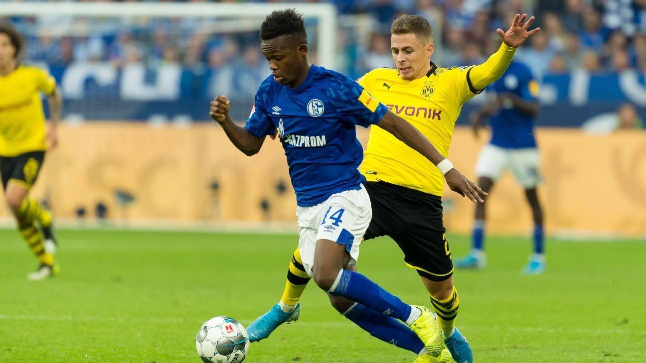 Matondo apologises to Schalke for BVB jersey