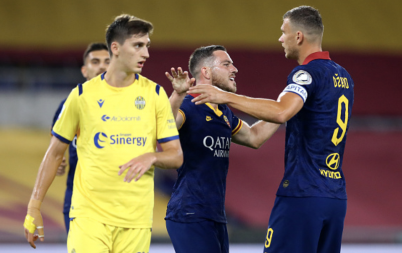 Roma revival continues with hard-fought victory over Verona