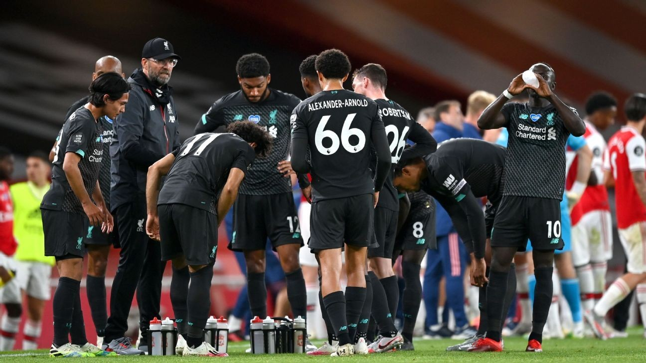 Records don't motivate Liverpool, and loss to Arsenal proves it