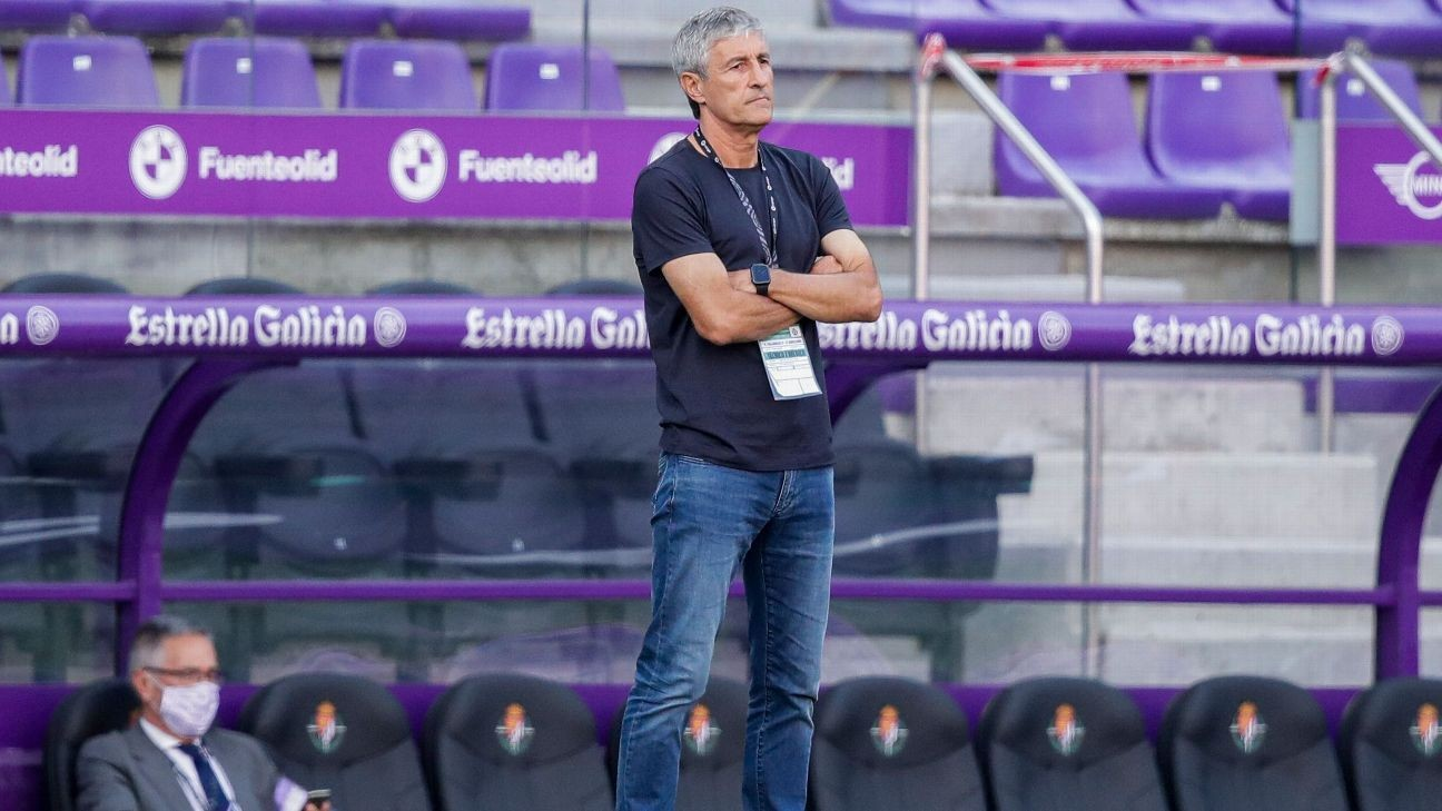 Setien unsure if we will manage Barca in UCL