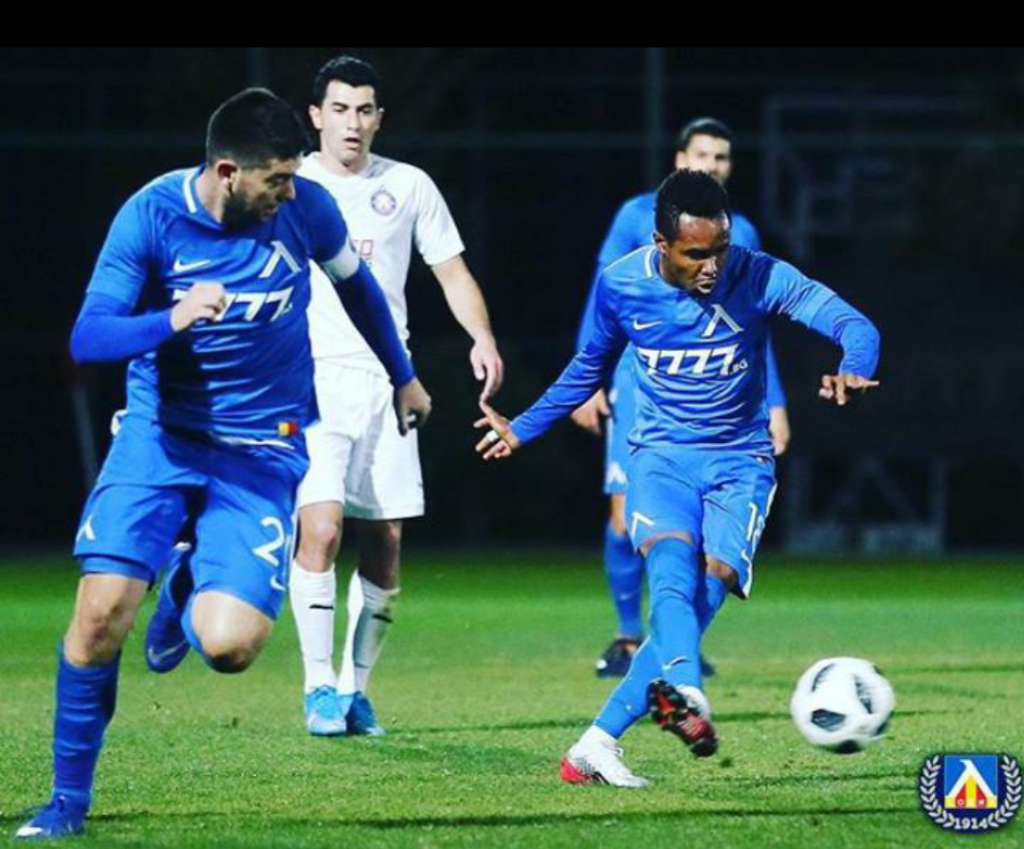 VIDEO: Nasiru Mohammed finally hits target for Levski Sofia after TEN attempts