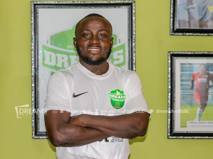 Dreams FC newbie Abel Manomey SAD by the cancellation of the 2019/20 GPL season