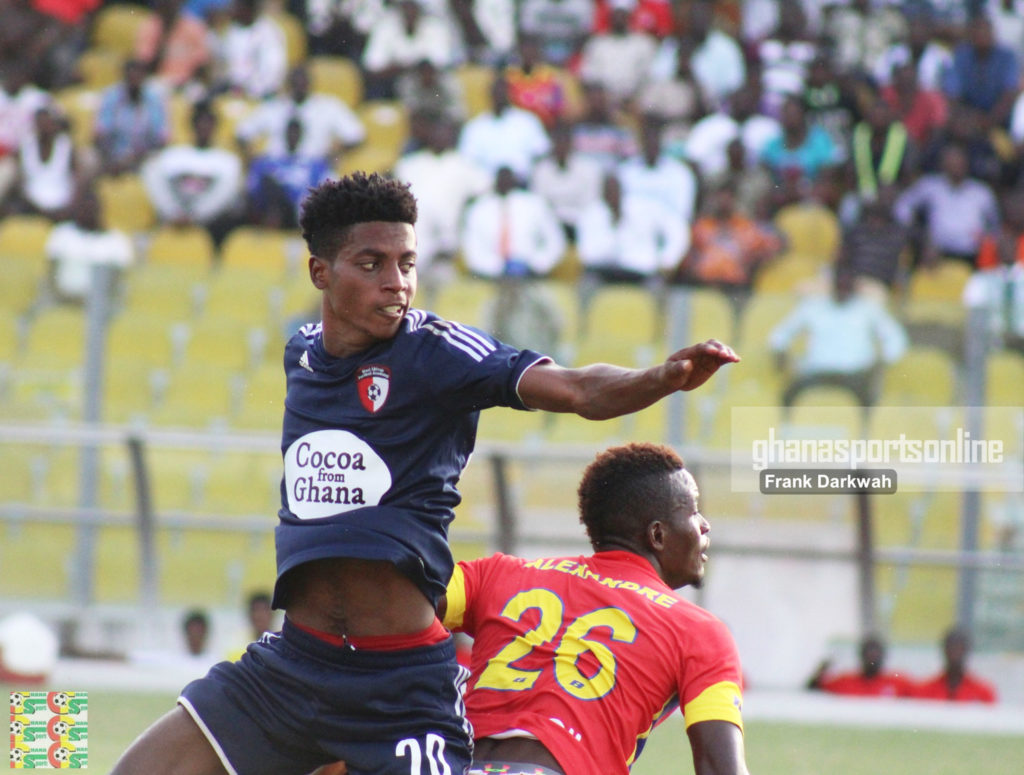 Caleb Amankwah reveals tonic behind WAFA's historic 5-0 win against Hearts in 2017