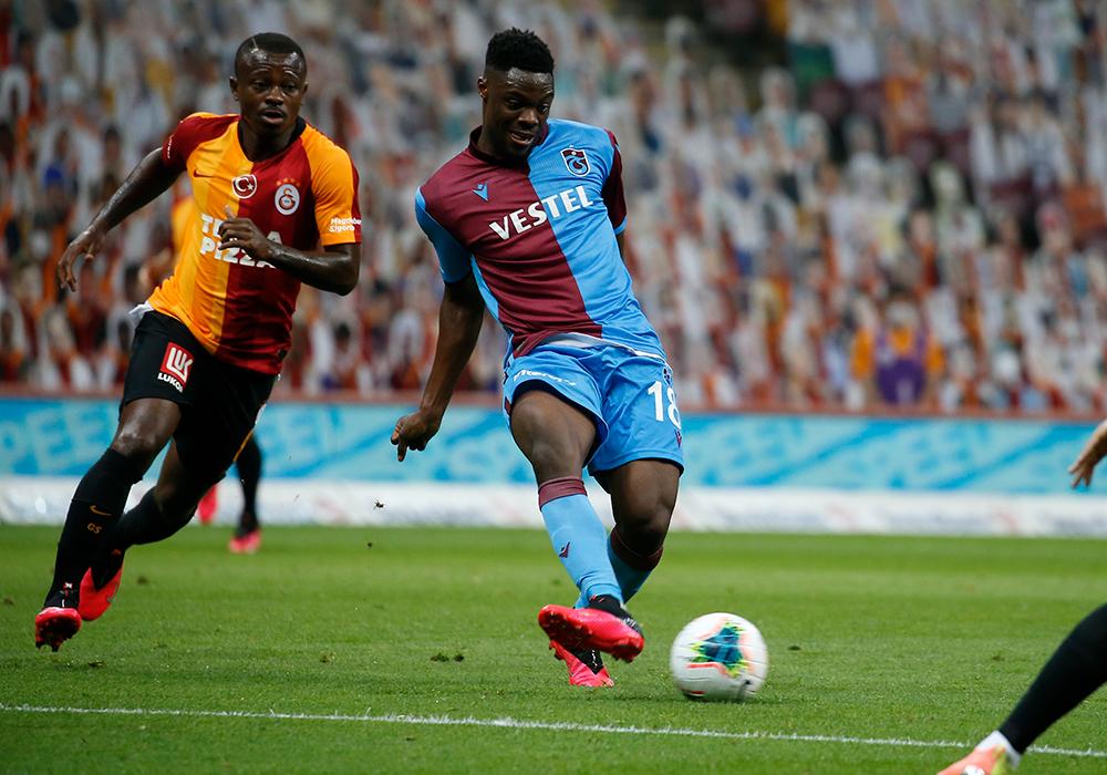 Caleb Ekuban returns to inspire Trabzonspor to victory against Galatasaray