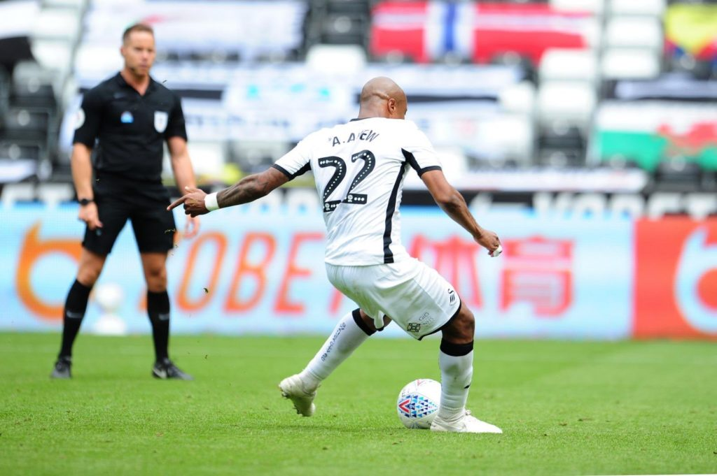 Andre Ayew feels good after scoring in Swansea win against Sheffield Wednesday