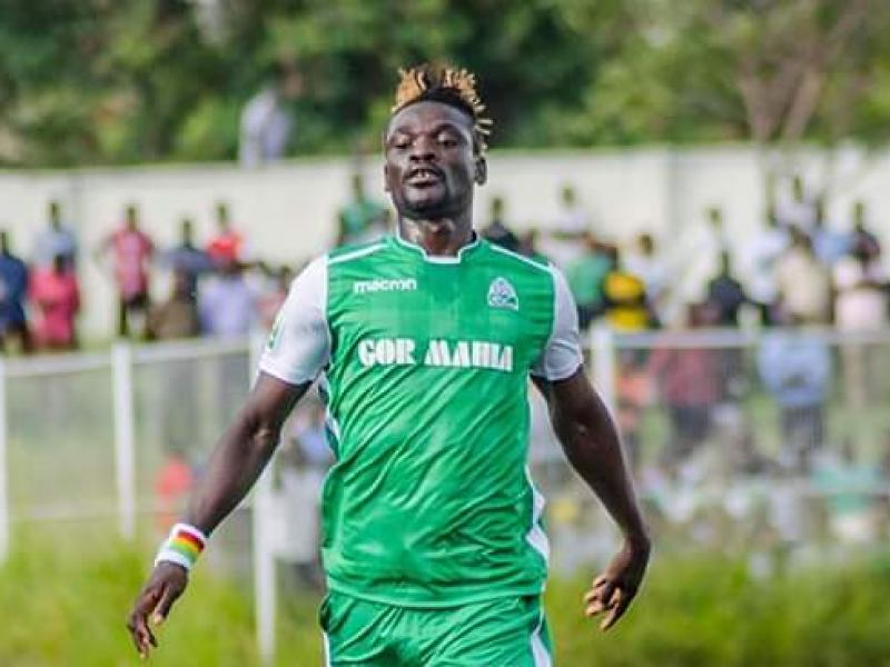 Ghanaian striker Francis Afriyie reveals landlord harassment led to his departure from Gor Mahia