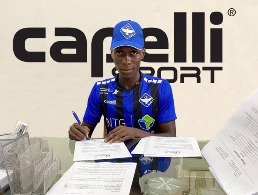 Inter Allies defender Frank Assinki joins Danish club HB Koge